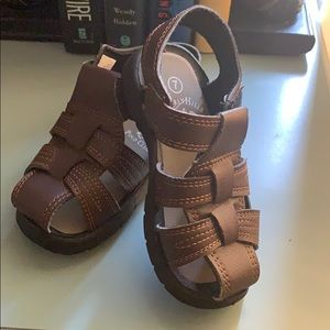 Toddler sz7 leather sandals